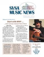 SVSA-Music News, 2018-02 Feb