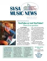 SVSA-Music News, 2018-03 Mar